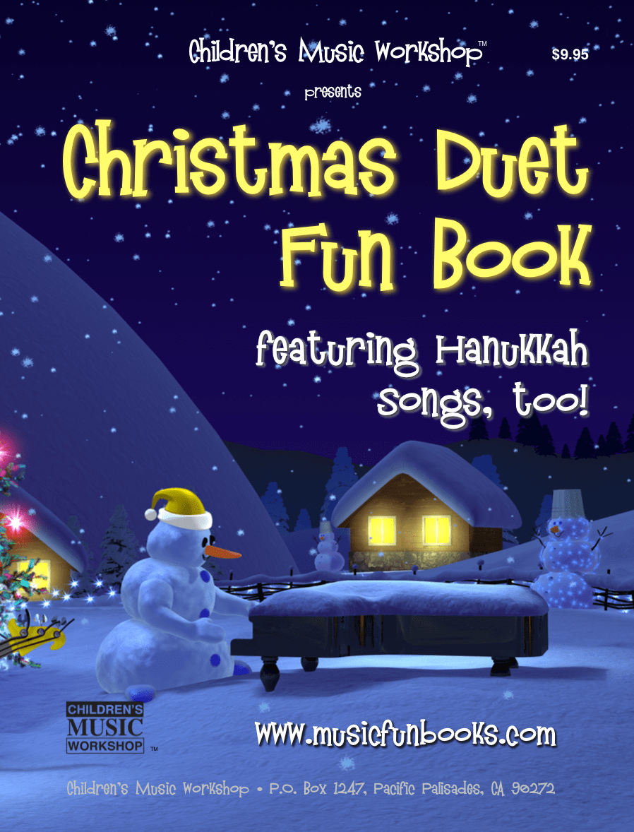 CLICK FOR A SAMPLE pdf of the VIOLIN CHRISTMAS DUET FUN BOOK